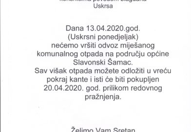 OBAVIJEST-JAKOB BECKER